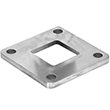 "CRL Base Flanges for 2"" Square Tubing"