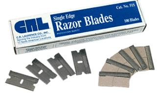 CRL Industrial Quality Blades