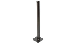 CRL AWS Welded Steel Surface Mount Stanchions