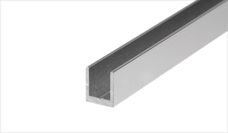 CRL Aluminum, Stainless Steel and Plastic U-Channels