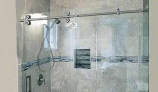 CRL Crescent Series Sliding Shower Door System