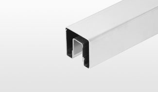 CRL GRS™ Premium Square Stainless Steel Cap Rail Systems