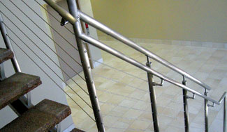 CRL Welded Post Railing Systems