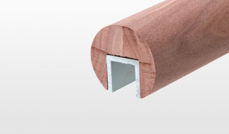 CRL Wood Cap Rails and Accessories