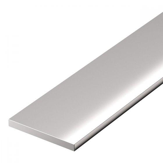 CRL Flat Aluminium Profile, 30 mm x 2 mm, 6 m length