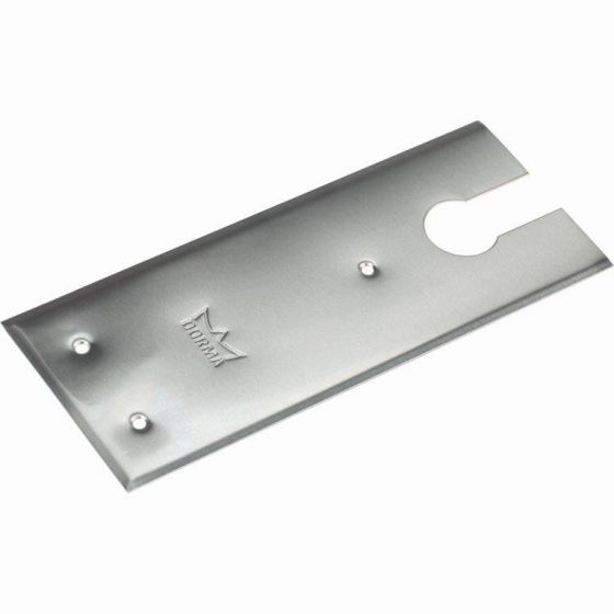 dormakaba brushed stainless cover plate for BTS 84