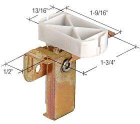 CRL Plastic Wardrobe Door Top Plastic Guide for Cox Series 29