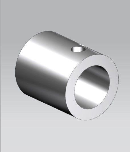 CRL Polished Chrome Slim Line Wall Mount Fitting, Ø 12 mm