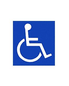 CRL Handicap Access Door Decal
