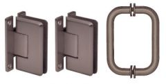 CRL Cologne Hinge and Handle Set