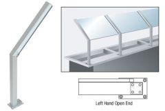 """CRL D999 23"""" Left Hand Open End Post s"""