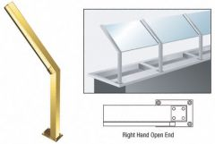 "CRL D999 23"" Right Hand Open End Posts"