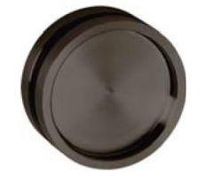 CRL Stuttgart Aluminium Finger Pull for hole diameter 50mm, Smoke Black
