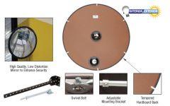 "CRL 48"" Diameter Circular Heavy-Duty Clear Plexiglas Convex Mirror"