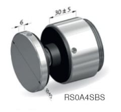 CRL 41AL-VARIO-P-45x30 Adjustable Point Fitting, 30 mm distance, Ø 45 mm