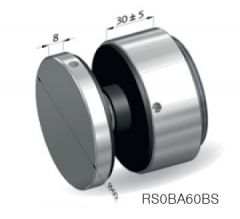 CRL Längle 41AL-VARIO-P-60x30 Adjustable Point Fitting, 30 mm distance, Ø 60 mm