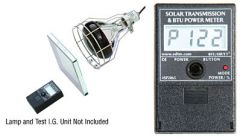 CRL Solar Transmission and BTU Power Meter