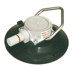 """CRL Wood's Powr-Grip® 6"""" Concave Vacuum Cup With Tie-Down Bail"""