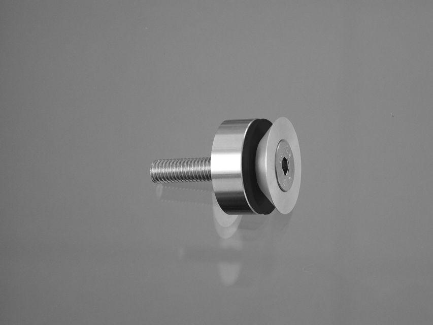 CRL Längle 41AL-SENK-16 Point Fitting, M5 Screw, Ø 16 mm