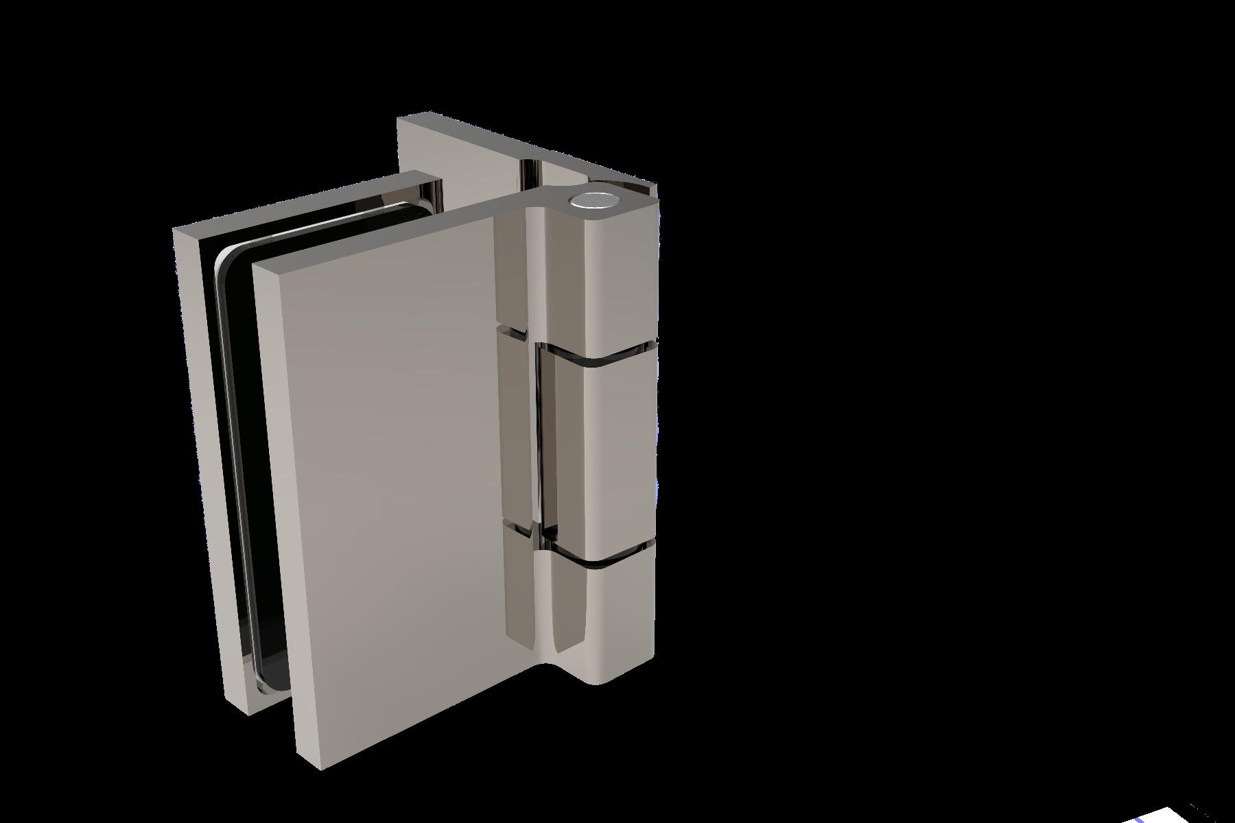 CRL COMO 90° Glass-to-Wall Hinge