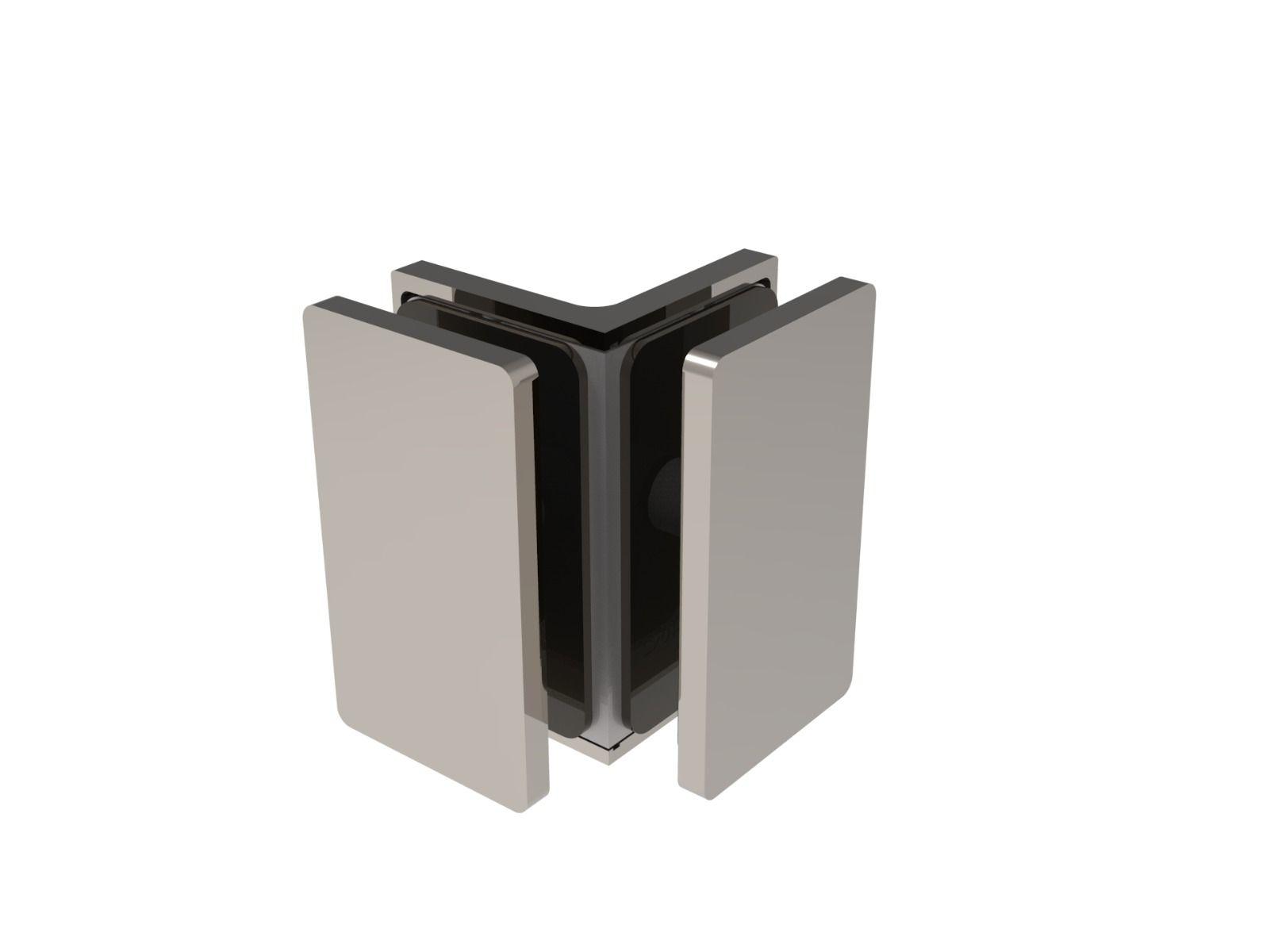 CRL COMO 90° Glass-to-Glass Clamp