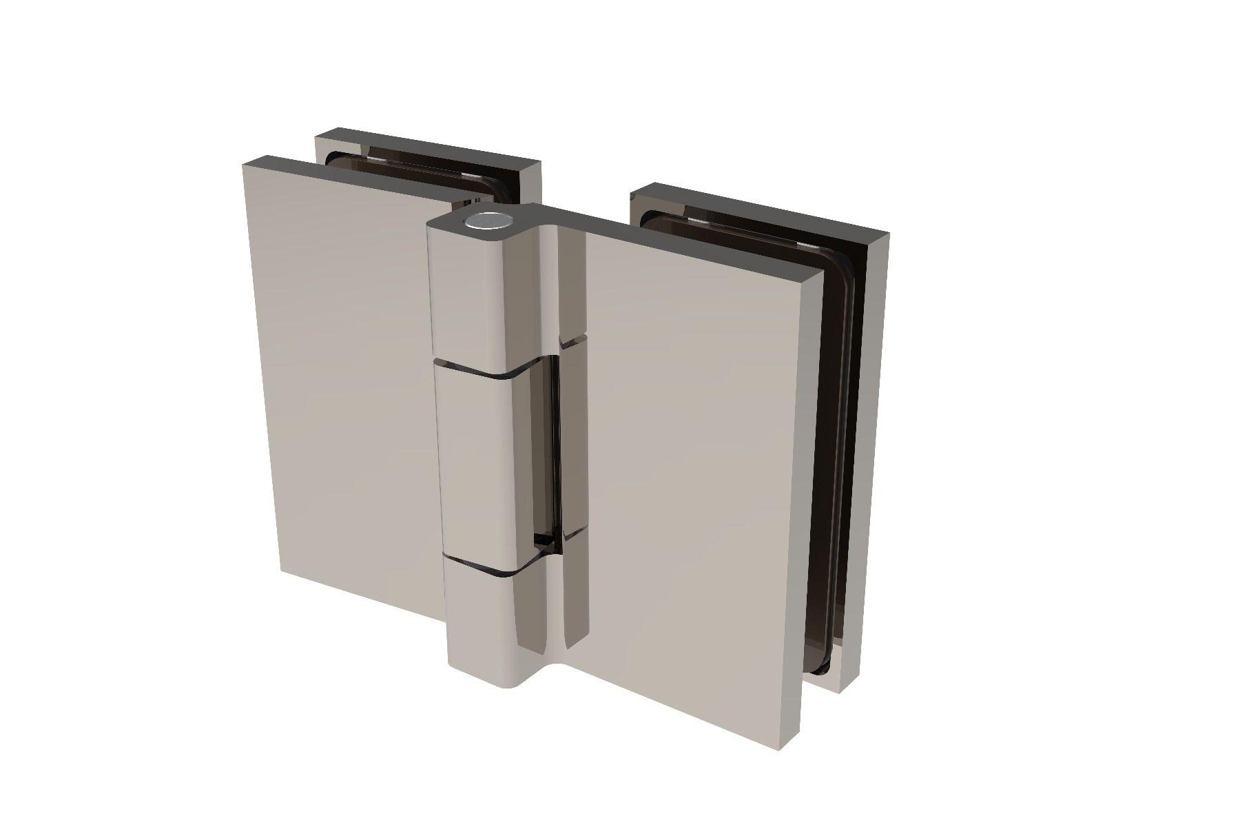 CRL COMO 180° Glass-to-Glass Hinge