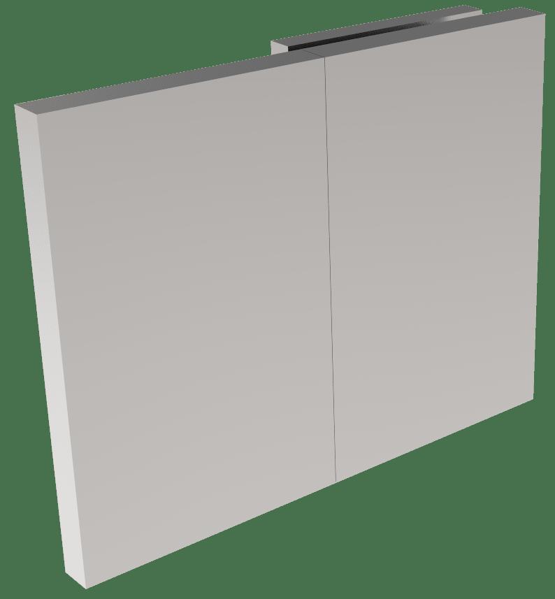 CRL COMO 180° Glass-to-Wall Clamp