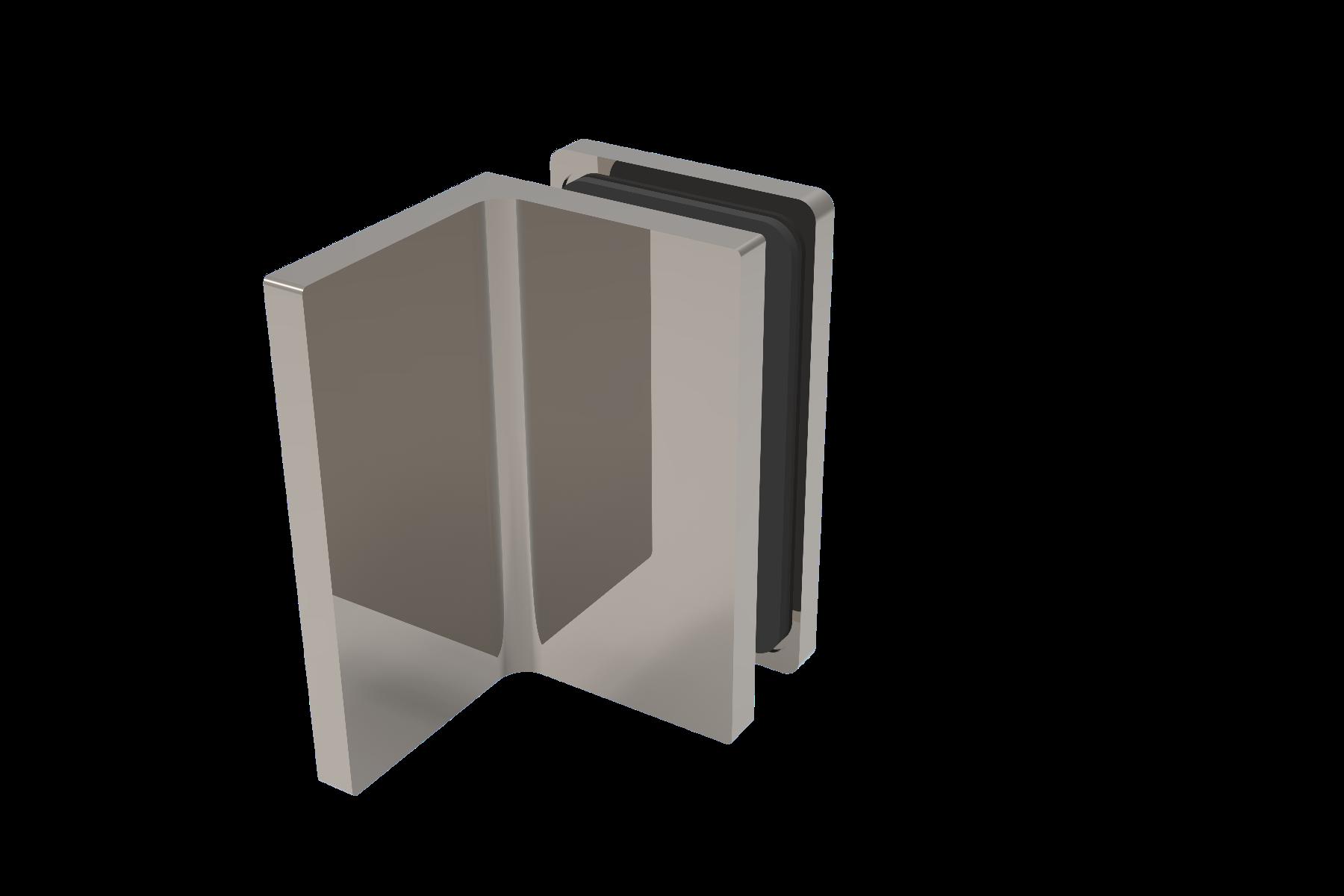 CRL COMO 90° Glass-to-Wall Clamp