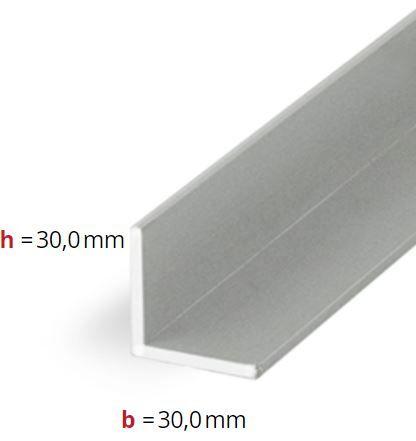 CRL L-Shape Aluminium Extrusion, 3 m