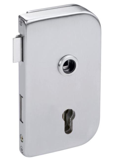 CRL Satin Stainless OFFICE lock, lockable
