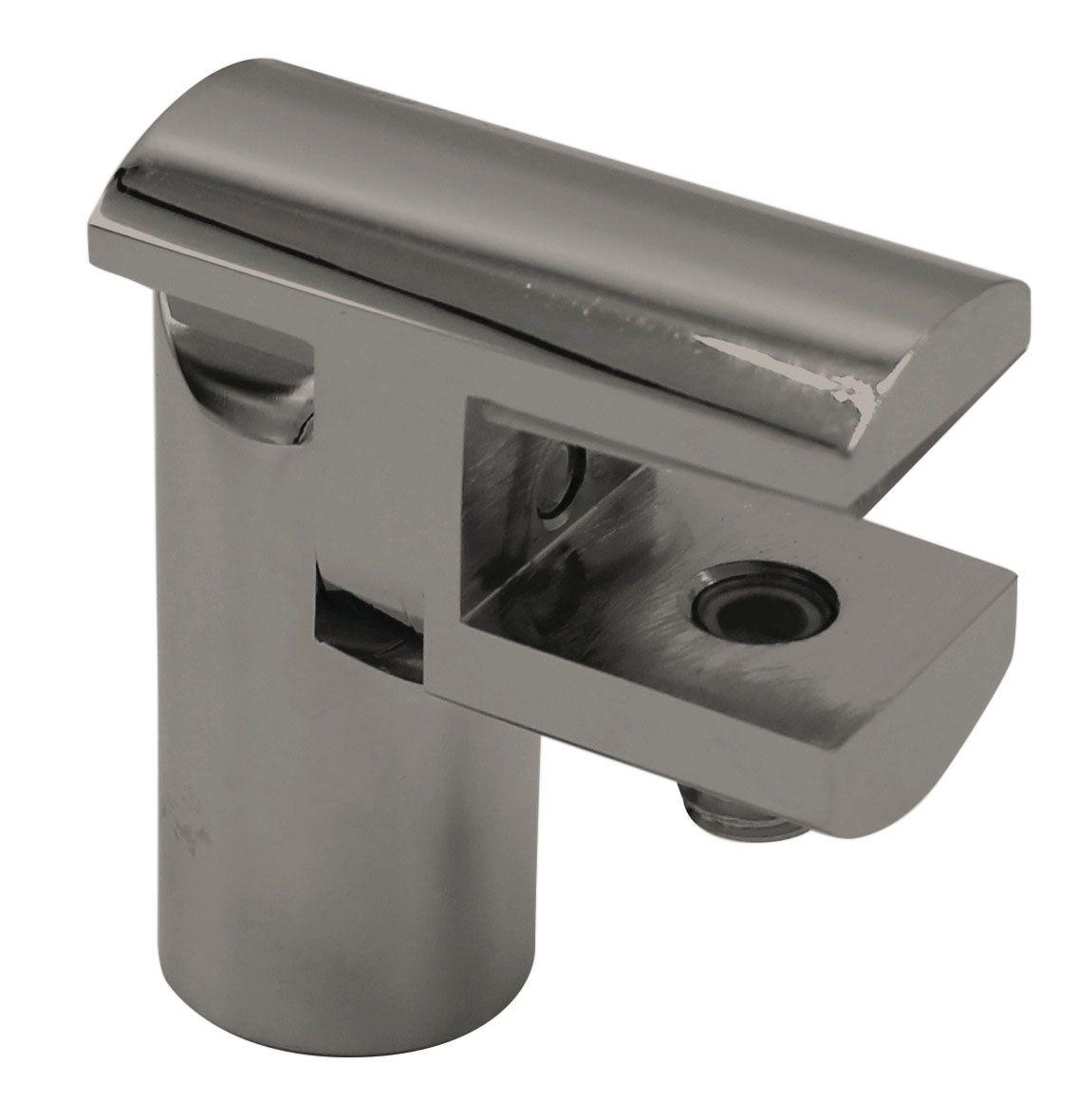 CRL Adjustable Support Bar U-Bracket, Ø 12 mm, 8 - 10 mm