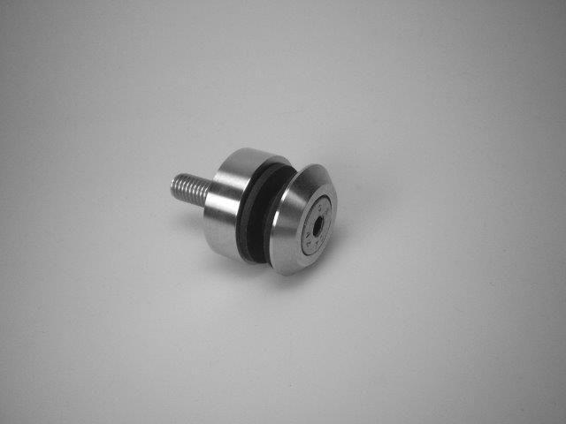 CRL Längle 41AL-TRAPEZ-80 Point Fitting, Countersunk Screw M12, Ø 80 mm