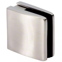 CRL Brushed Stainless Steel Glass Clamp
