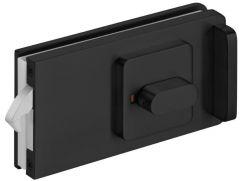 CRL STUTTGART matte black Sliding Door Lock for bathrooms