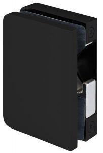 CRL STUTTGART matte black Glass Mounted Lock Case