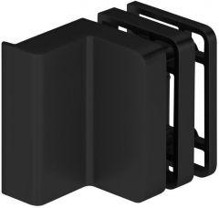 CRL STUTTGART matte black Wall Mounted Lock Case