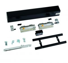 Set dormakaba MUTO COMFORT M 60, ceiling mount, SET 950, incl. Pull Handle and dormotion, matte black