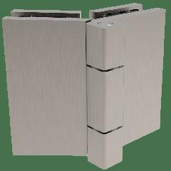 CRL COMO Brushed Nickel 135° Glass-to-Glass Hinge