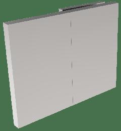 CRL COMO Polished Chrome 180° Wall Clamp