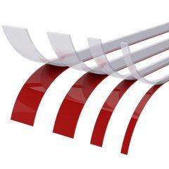 CRL Doppelseitiges Klebeband für Kantenschutz-Flachprofil, 10 x 3 mm