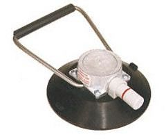 """CRL Wood's 6"""" Vacuum Cup with Low Profile Flip Handle"""