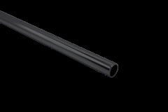 CRL Matte Black 1 m Support Bar Only, Ø 12 mm