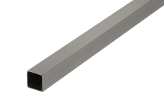 CRL Brushed Nickel 500 mm Square Support Bar 12 x 12 mm