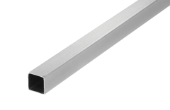 CRL Chrome 1000 mm Square Support Bar 12 x 12 mm