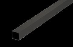 CRL Matte Black 500 mm Square Support Bar 12 x 12 mm