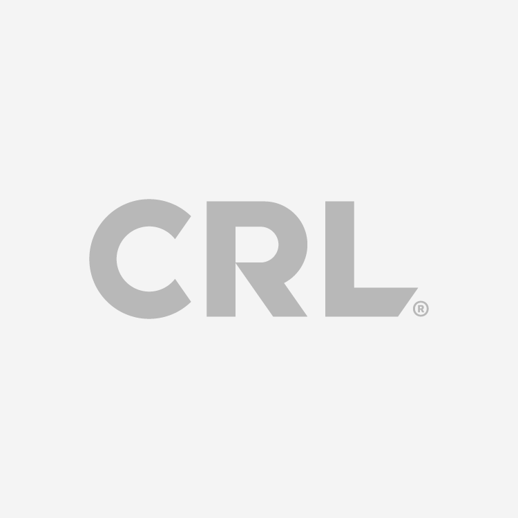 CRL DORMA Hinge, square, brushed nickel
