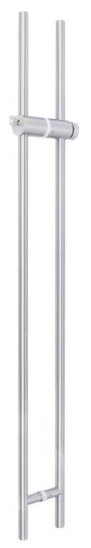 CRL Brushed Stainless Steel Locking Ladder Pull, 8 - 12 mm,