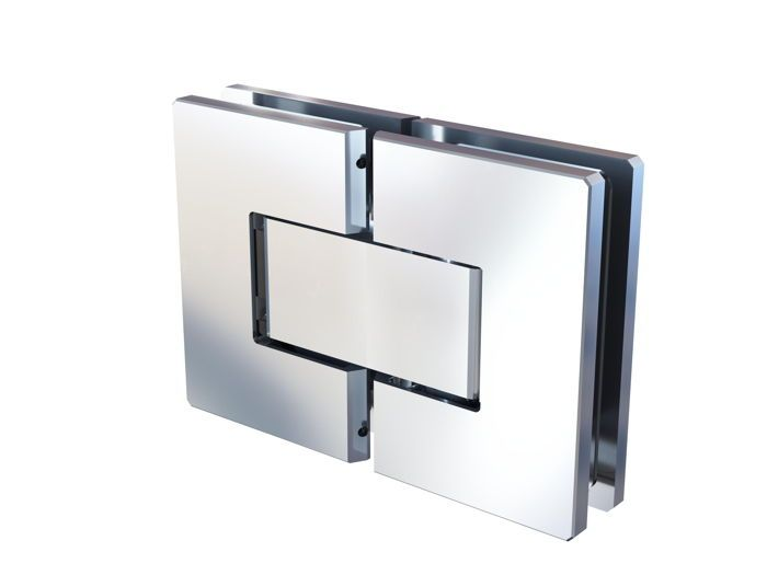 CRL FLORENCE 180° glass to glass adjustable swing door hinge with polymer technology