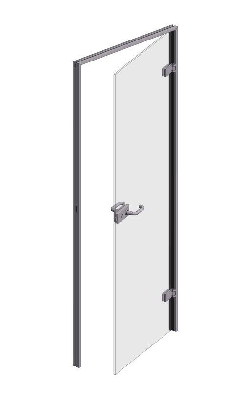 CRL OFFICE Glass to Glass Door Frame Set