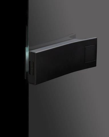 CRL SMART ENTRANCE glass door lock , touch to open